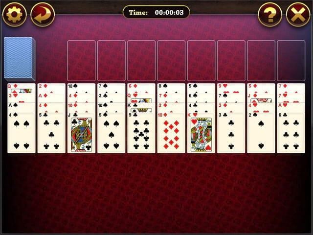 Lucky Solitaire Mac Game Screenshot